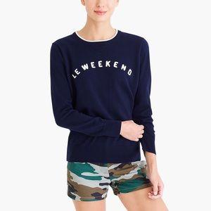 "J. Crew ""Le weekend"" Sweater"